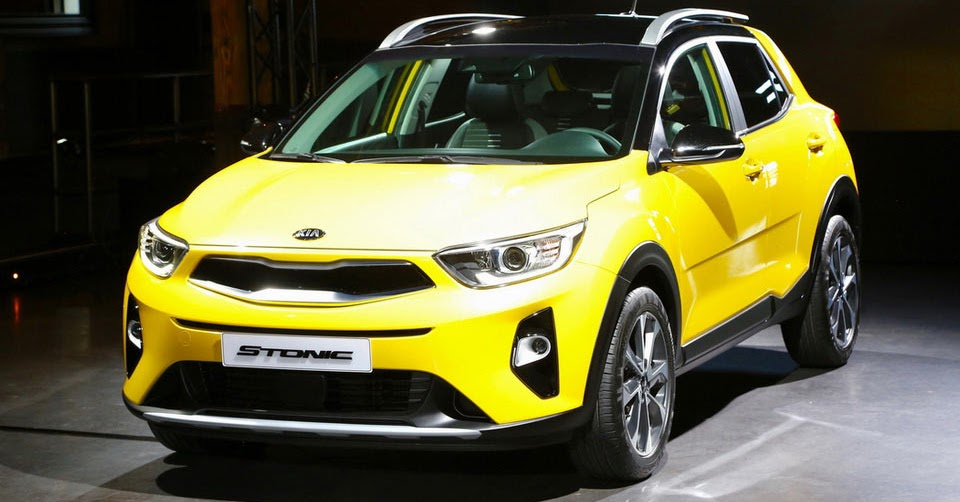 kia s new stonic sub compact suv detailed in new gallery. Black Bedroom Furniture Sets. Home Design Ideas