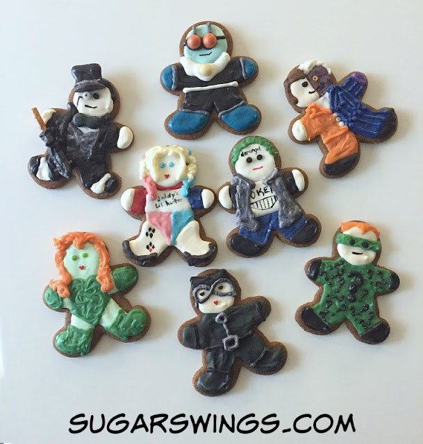 DC Villain cookies