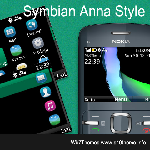 Themes Nokia C3-00 X2-01 Asha 205, 201, 200 and Asha 302