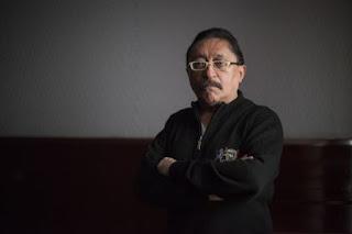 Sergio González, en una sala de la FIL SAÚL RUIZ