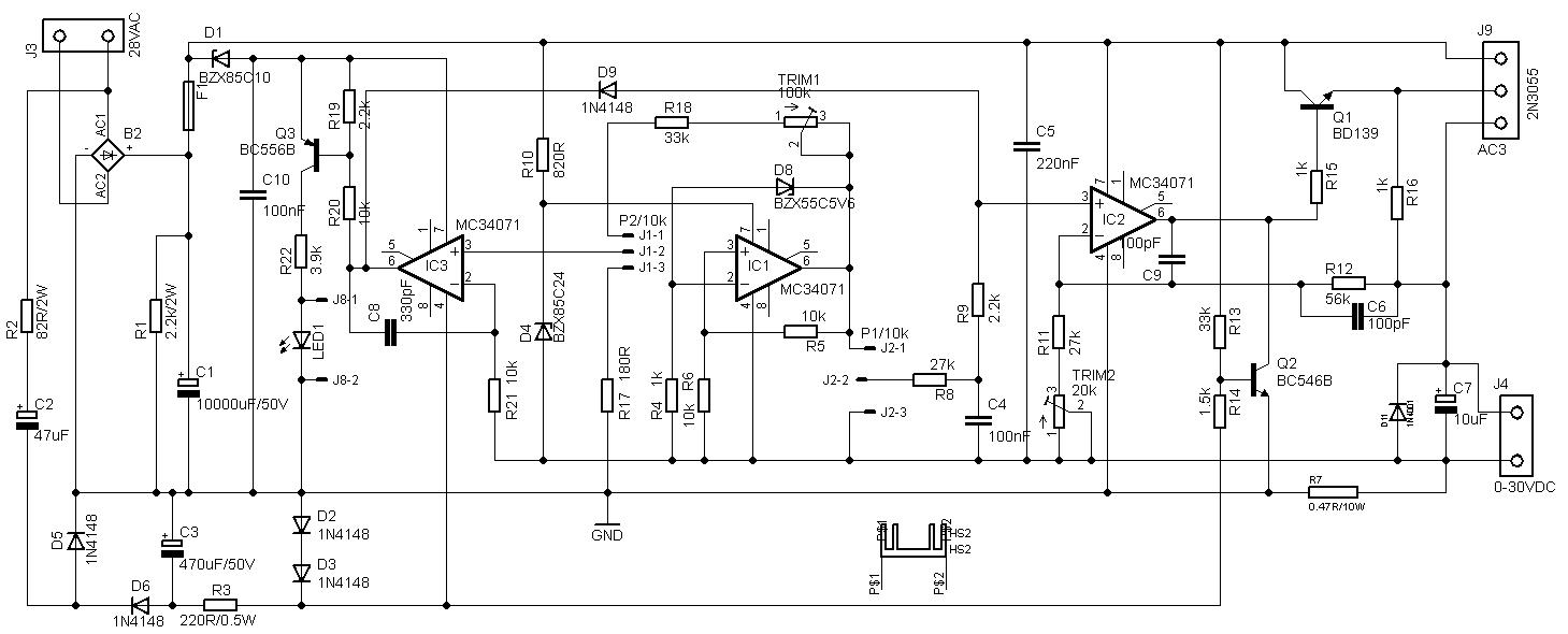 DIYfan: Adjustable Lab Power Supply