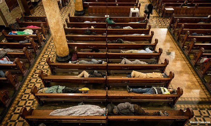 Church in San Francisco Opens Its Door For Homeless People To Sleep Overnight