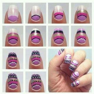 Pintados de uñas paso a paso
