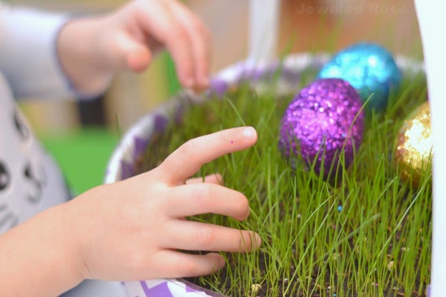 Easter traditions for kids growing a jeweled rose make easter magical for kids with these fun ideas i love these too cute negle Images