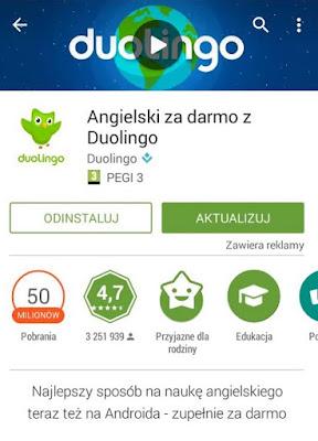 aplikacja do nauki angielskiego