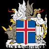 Logo Gambar Lambang Simbol Negara Islandia PNG JPG ukuran 100 px