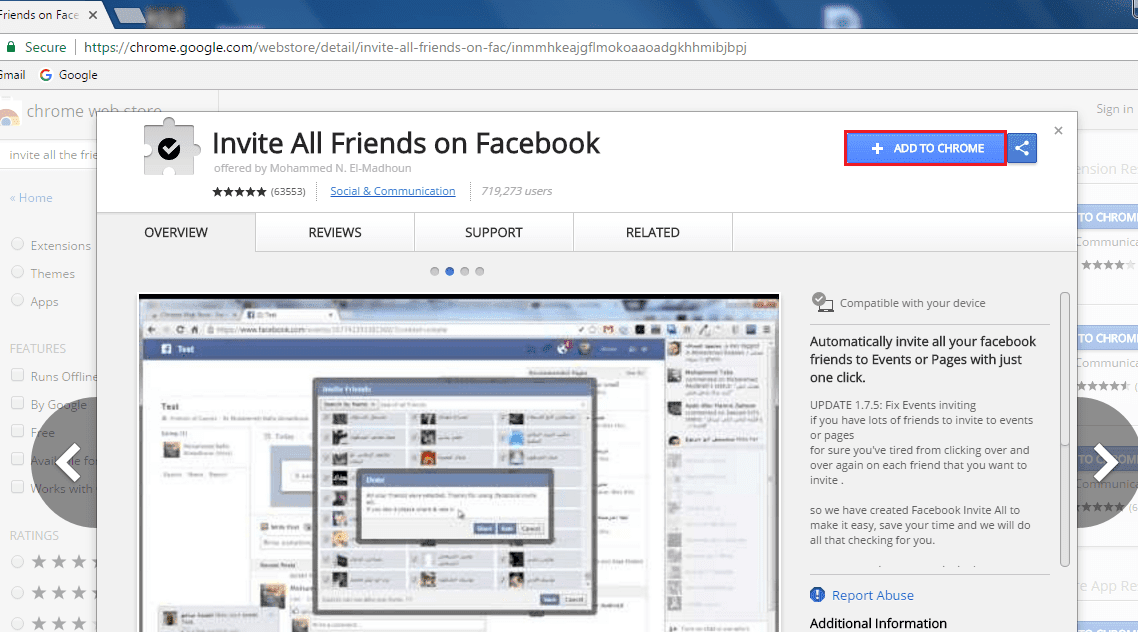 How To Invite All Friends To Like Page On Facebook Single Click 2017