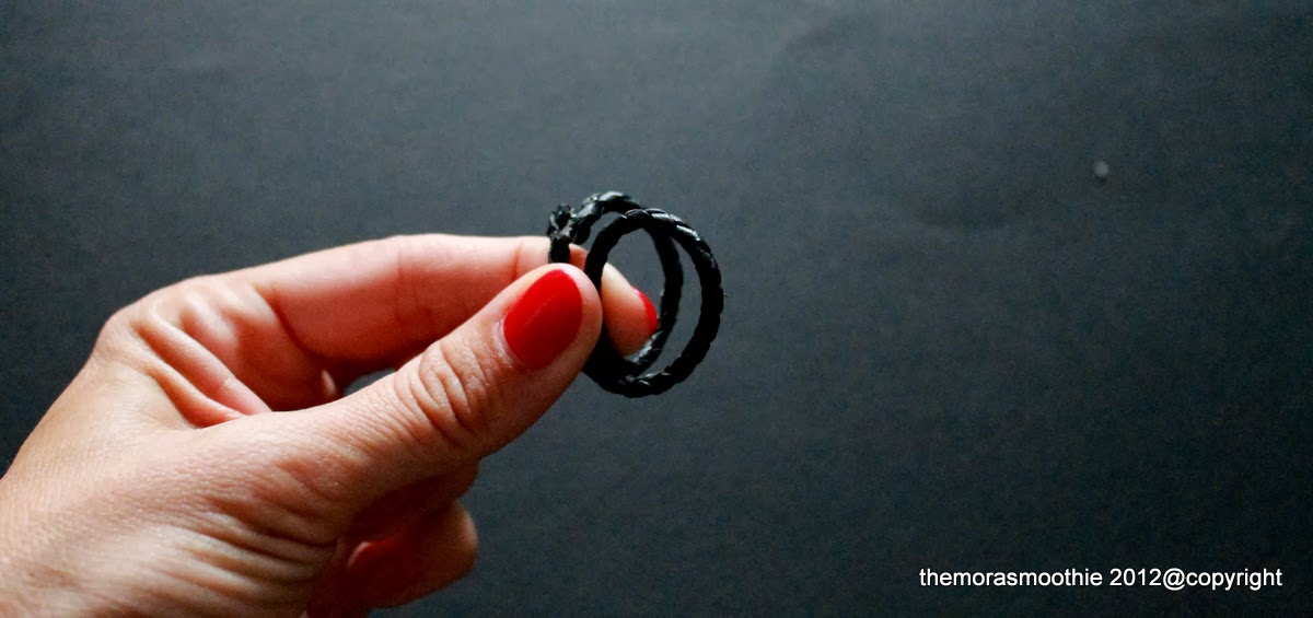 ring, diy ring, diy blog, craft, tutorial, leather, leather ring, anello in pelle