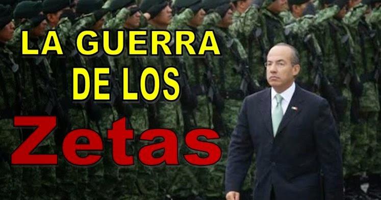La Guerra de Los Zetas, los 11 militares masacrados, los 12 policías cazados y la muerte del Alcalde