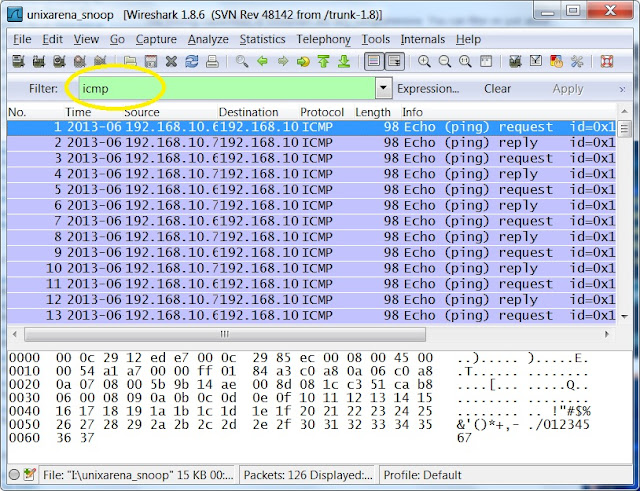 Wireshark How To Analyse Captured Network Data Unixarena