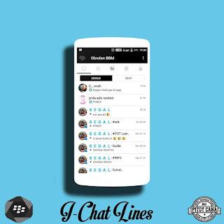 BBM MOD I Chat Lines Versi Terbaru v3.3.1.21 APK