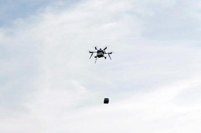 Aviones no tripulados entregarán burritos de Chipotle