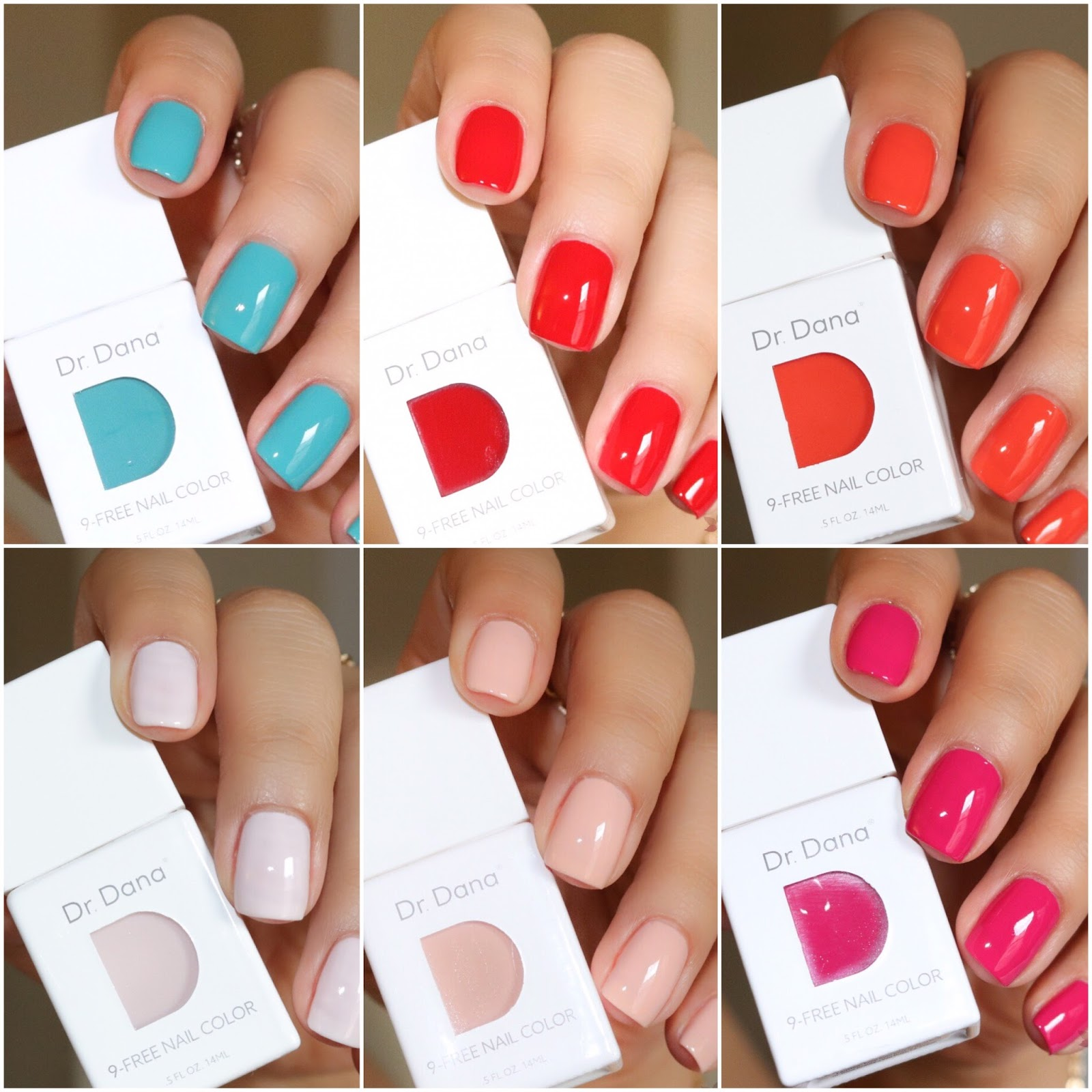 Simply Jary: Dr. Dana Celebrity Nail Colors | Swatches & Review