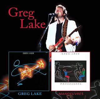 Greg Lake's Greg Lake & Manoeuvres LPs