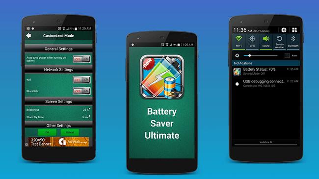 7 Aplikasi Penghemat Baterai Terbaik untuk Smartphone Anda - Battery Saver Ultimate