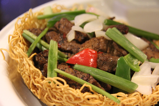 Cantonese Black Pepper Beef
