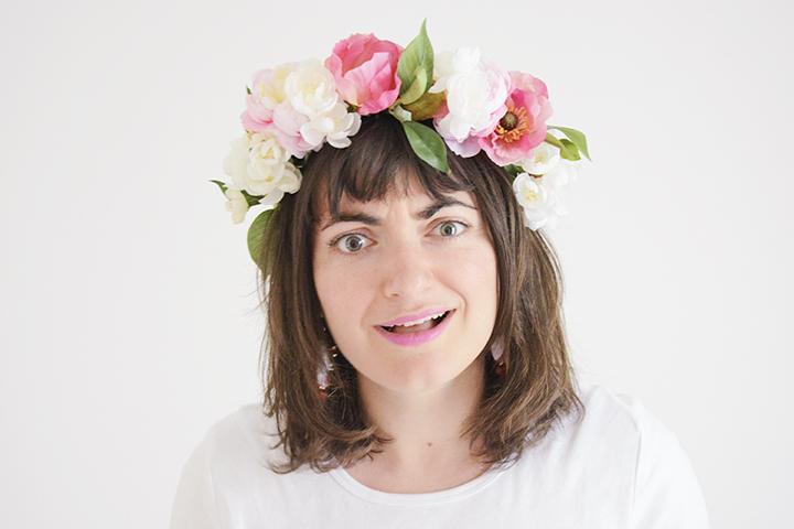 Atelier couronne de fleurs Sirop de Fraise blog z day Zodio Tours