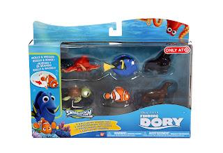 finding dory swigglefish target set