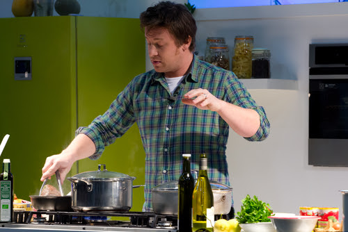 Do you feel like tasting something from Jamie Oliver?