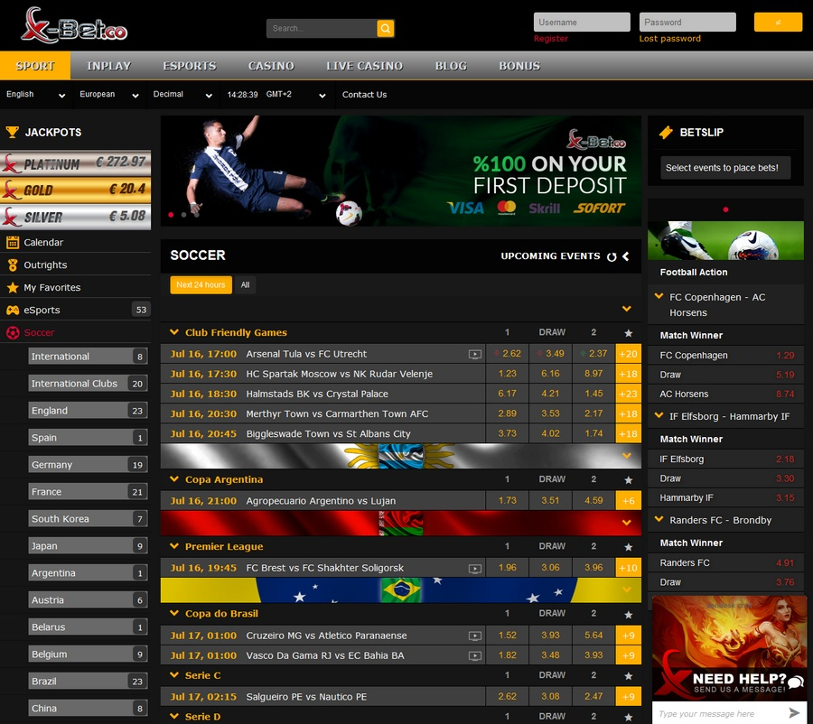 x-bet Sportsbook