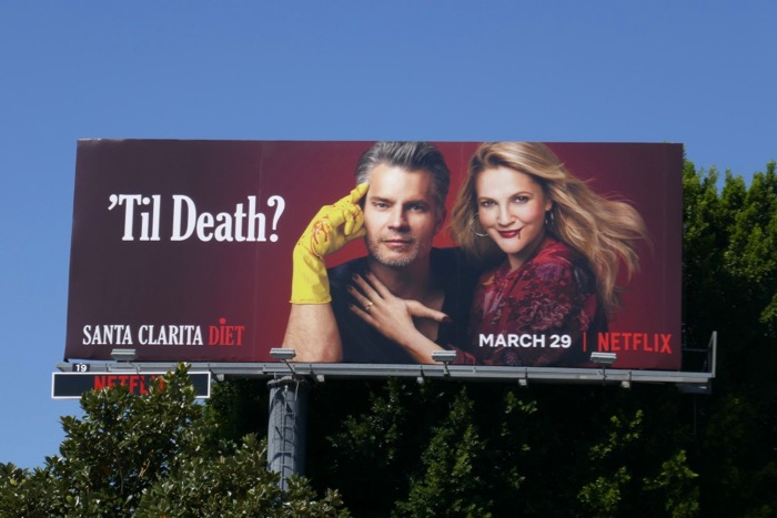 Santa Clarita Diet season 3 Til Death billboard