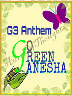 aura of thoughts- GoGreen Ganesha