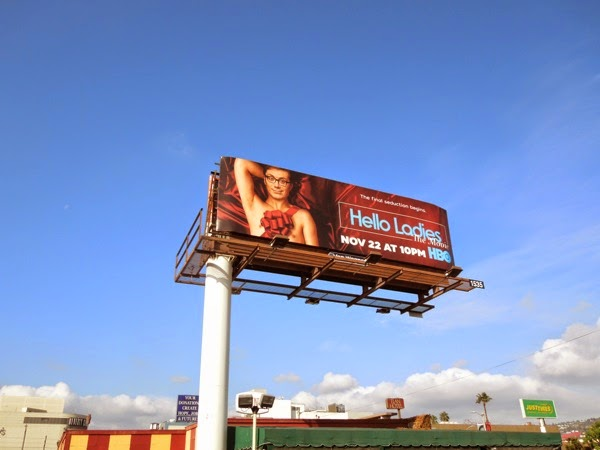 Hello Ladies Movie billboard