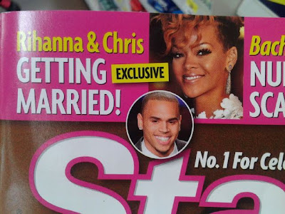 "CHRIS BROWN And Rihanna's ""Secret Wedding Rumours"" Not Affecting KARRUECHE 1"