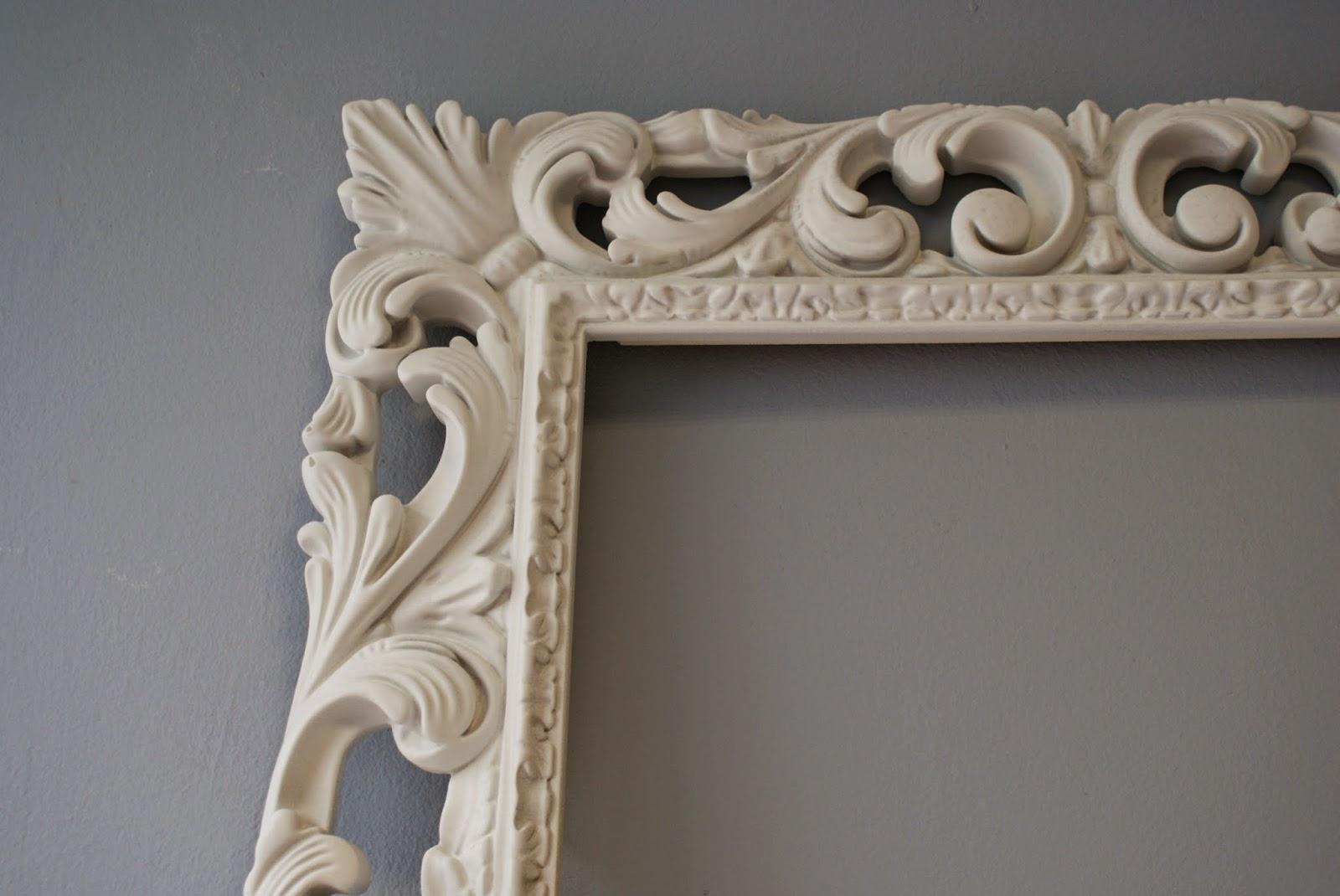 Specchiera in legno cornice barocca intagliata laccata bianca opaca 75x95 ebay - Specchio cornice nera barocca ...
