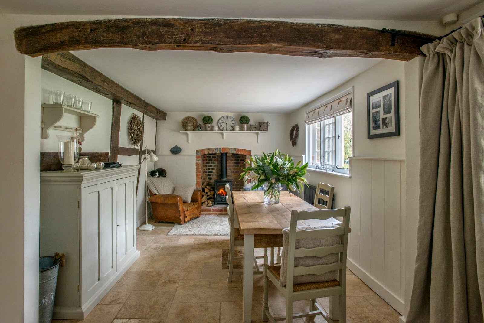 English Country Cottage Style Kitchens
