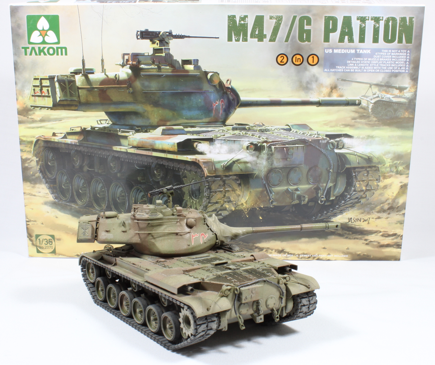 The Modelling News: Paul's painting & weathering the 35th scale M47