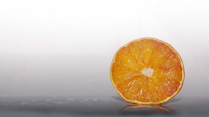 Wallpaper: Orange Slice