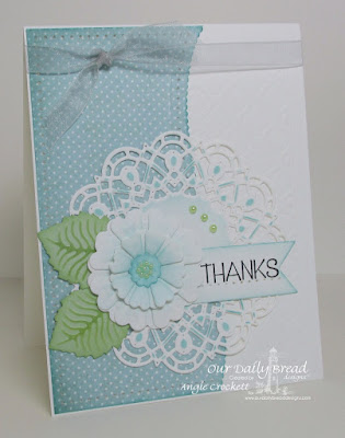 ODBD Custom Pretty Posies Dies, ODBD Christmas Paper Collection 2014, ODBD Custom Doily Dies, ODBD Custom Pennants Dies, ODBD Custom Boho Background Dies, ODBD Custom Leafy Edged Borders Dies, ODBD Plant a Garden, Card Designer Angie Crockett