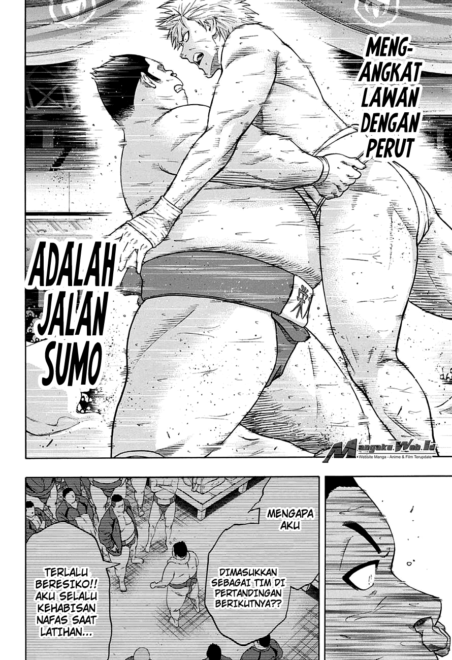 Hinomaru Zumou Chapter 142-8