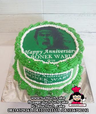 Persebaya Bonek Kue Tart Ulang Tahun & Anniversary