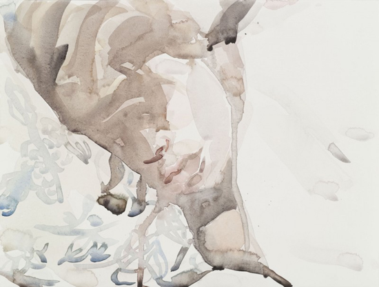 Elizabeth Peyton Klara, 2010 Watercolor on paper 31 x 40.5 cm