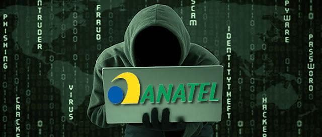 Hackers da Anonymous atacam a Anatel que tem serviços online derrubados.