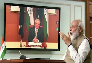 India and Australia Virtual Bilateral Summit