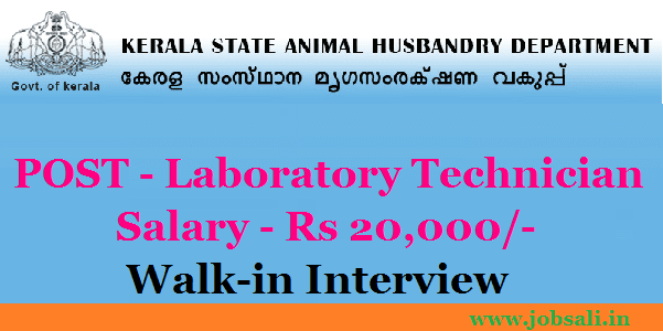animal husbandry jobs – walk in interview for laboratory technician, Human Body