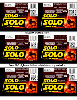 Printable Solo Candy Bar Wrappers - Rolo - High Res PDF on TheStarWarsMom.com
