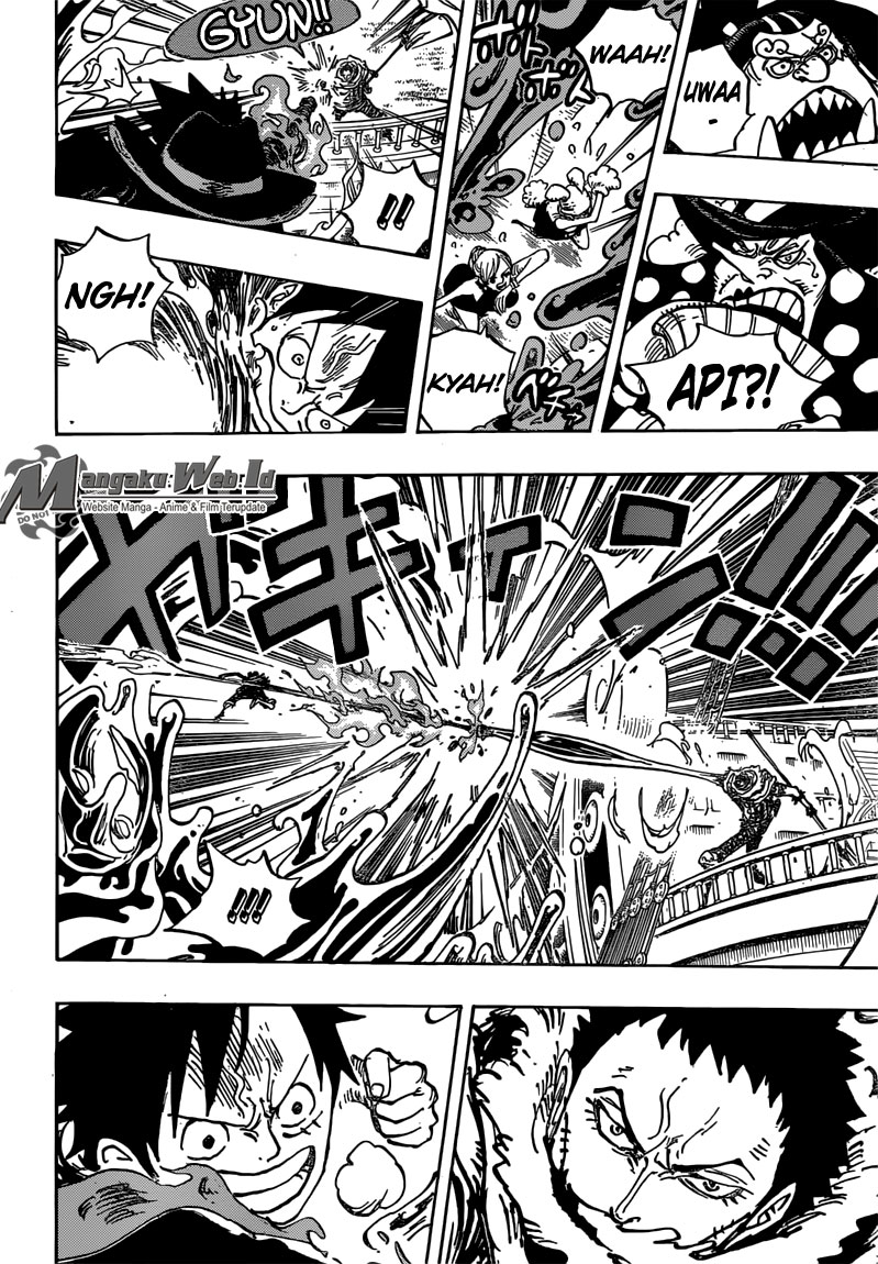 tonton streaming One Piece – Chapter 877 : Aku Tidak Semanis Itu