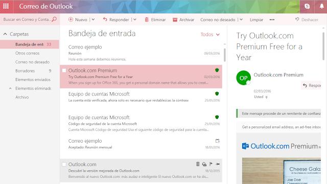 Outlook.com: Las claves de la nueva versión de Outlook.com