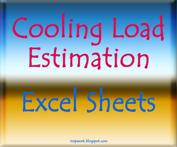 Cooling and Heating Load calculation Manual Ashrae Download