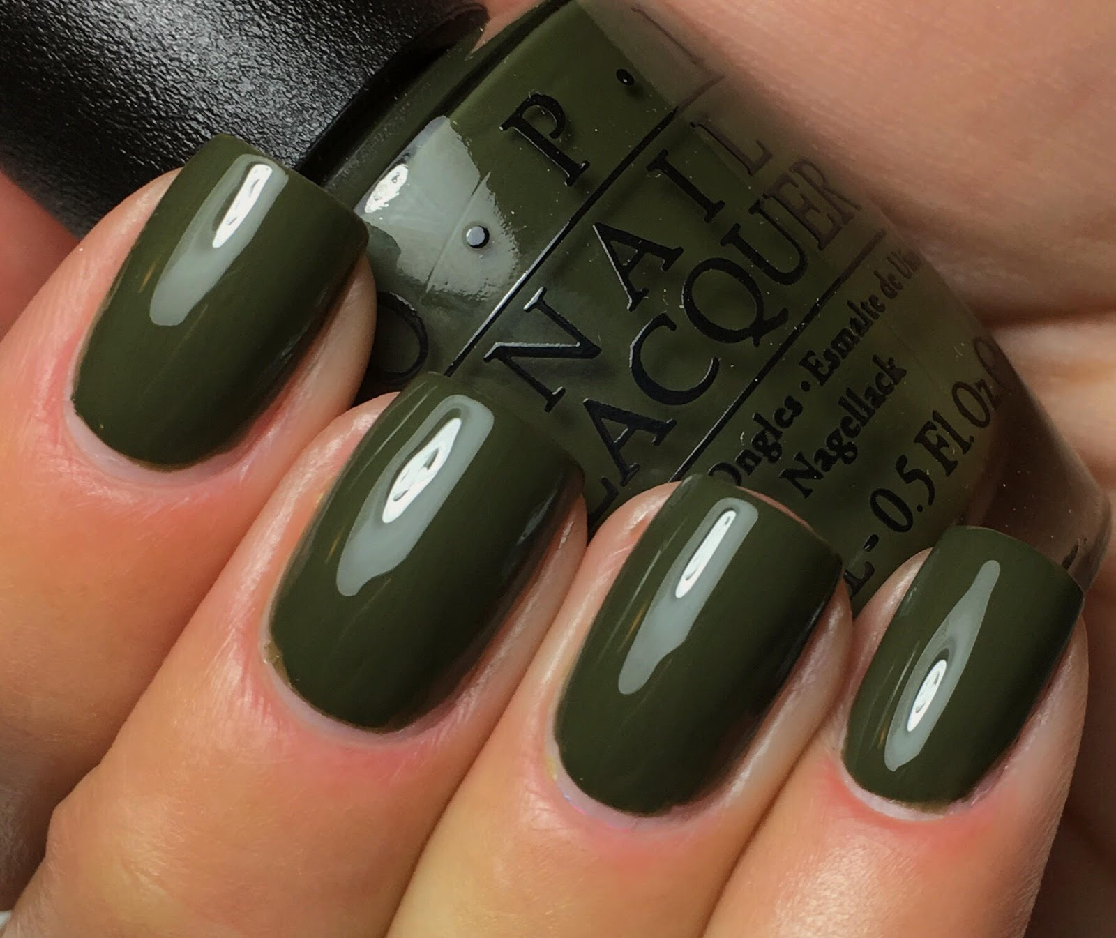 Navy Green Nail Polish: Swatches By An OPI Addict