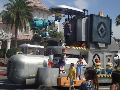 Meu malvado favorito, no Universal Studios