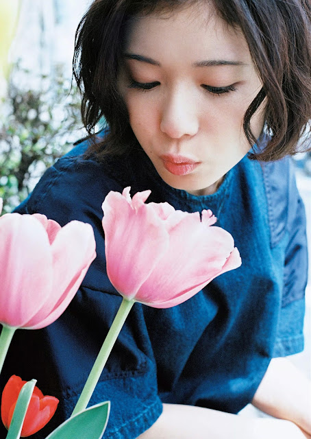 Mayu Matsuoka 松岡茉優 Weekly Playboy 2016 No 19-20 Images 06