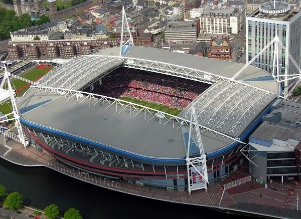 Millenium Stadium, Cardiff, Wales