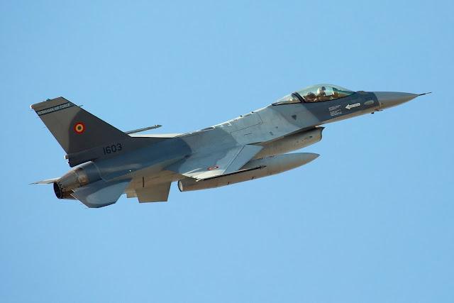 Romania mua bổ xung chiến đấu Cơ F-16 từ Bồ Đào Nha