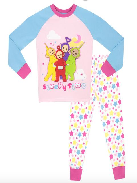 Teletubbies Pink Pyjamas Character.com