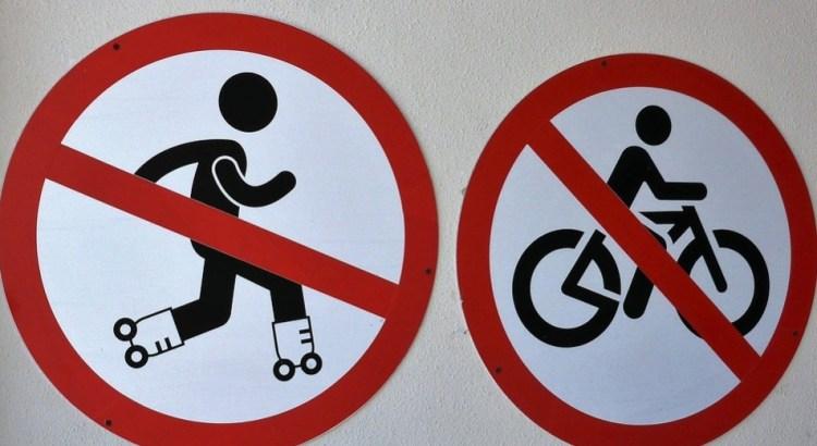 Em Pombal, Prefeito manda multar quem andar de bicicleta e de patins sobre calçadas e praças